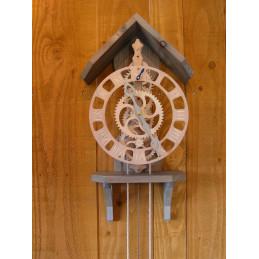 Horloge bois - Floris horizon - kit à monter - art déco