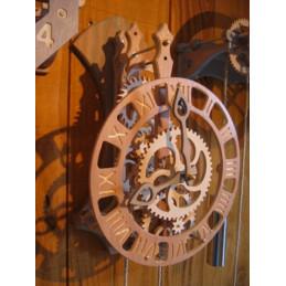 Horloge bois - FLORIS L.U. - kit à monter