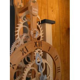 Horloge bois - Kinéma...