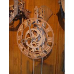 Horloge bois - FLORIS L.U....