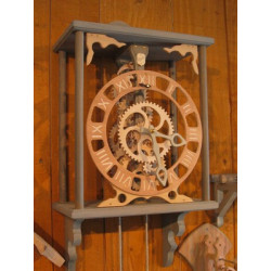 Horloge bois - FLORIS 1900...