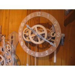 Horloge bois - Floris...