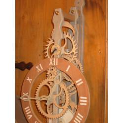Horloge bois - KINEMA KIT -...